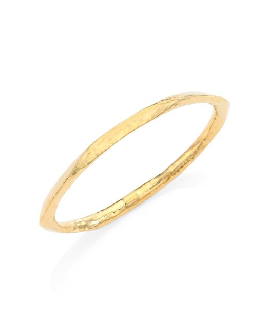 Ippolita   Metallic Glamazon 18k Yellow Gold Wide Bangle Bracelet   Lyst