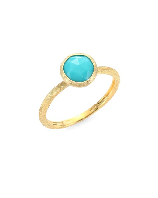 Marco Bicego - Metallic Jaipur Turquoise & 18k Yellow Gold Ring - Lyst