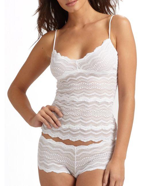 Cosabella - White Ceylon Lace Camisole - Lyst
