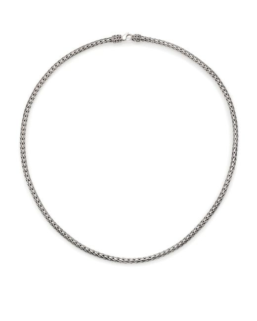 John Hardy - Metallic Classic Chain Sterling Silver Slim Necklace/18 - Lyst