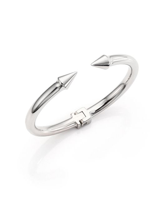 Vita Fede - Metallic Mini Titan Cuff Bracelet/silvertone - Lyst