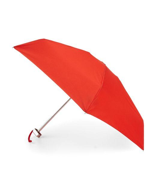 Saks Fifth Avenue - Red Ultimate Mini Umbrella - Lyst