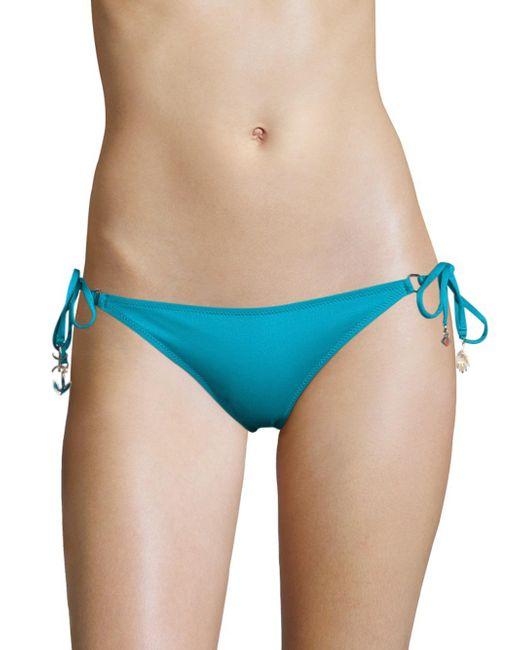 Lazul | Blue Nubia Braided Tassel Hipster Bikini Bottom | Lyst