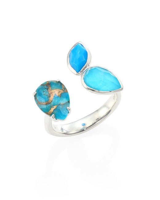 Ippolita | Multicolor 925 Rock Candy Turquoise Open Ring | Lyst