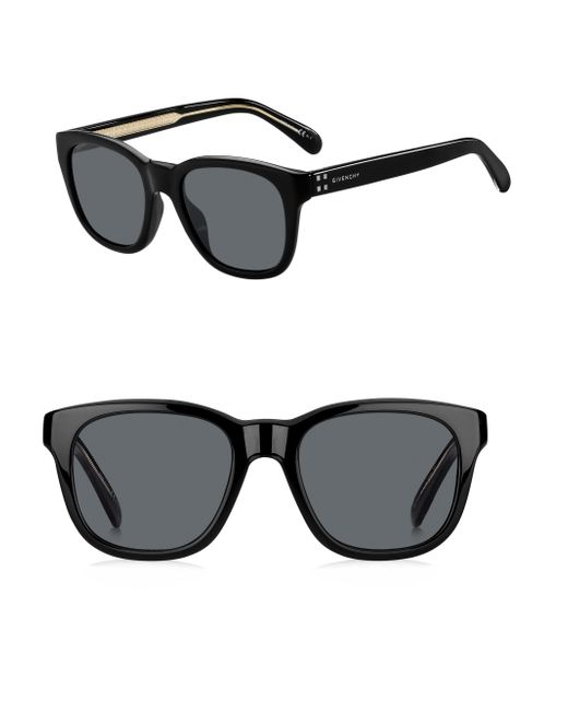 419248d44ca9f Lyst - Givenchy Men s 51mm Square Sunglasses - Brown in Black for Men