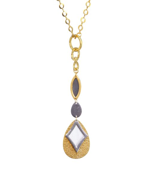 Stephanie Kantis - Metallic Paris Long Drop Necklace - Lyst