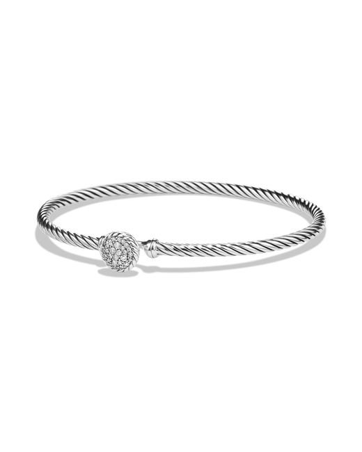 David Yurman - Metallic Châtelaine Bracelet With Diamonds - Lyst