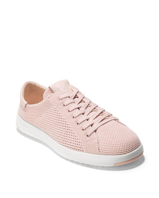 Cole Haan - Pink Grandpro Stitchlite Sneakers - Lyst