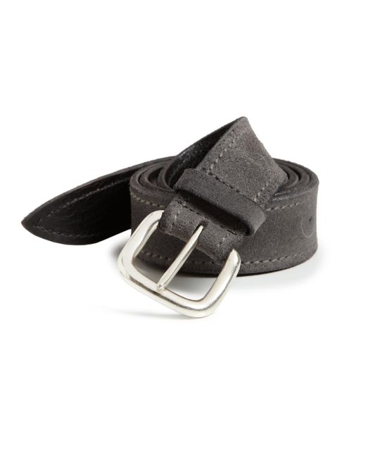 Orciani | Gray Suede Belt for Men | Lyst