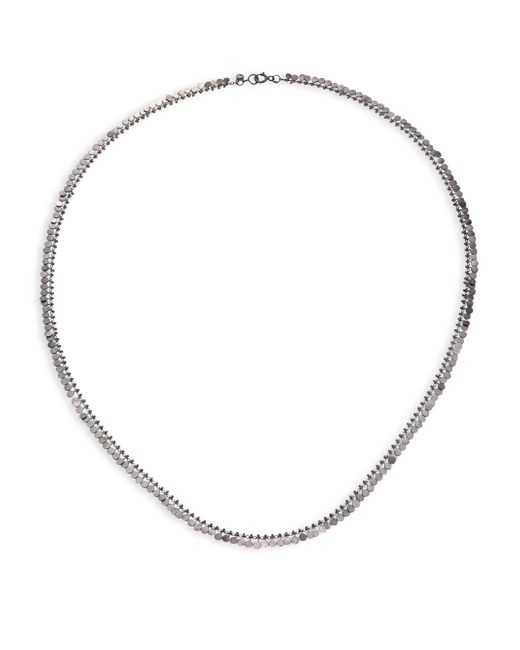 Sia Taylor - Metallic Full Dots Sterling Silver Necklace - Lyst