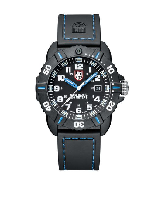 Luminox - Black Sea Coronado Rubber Strap Watch for Men - Lyst