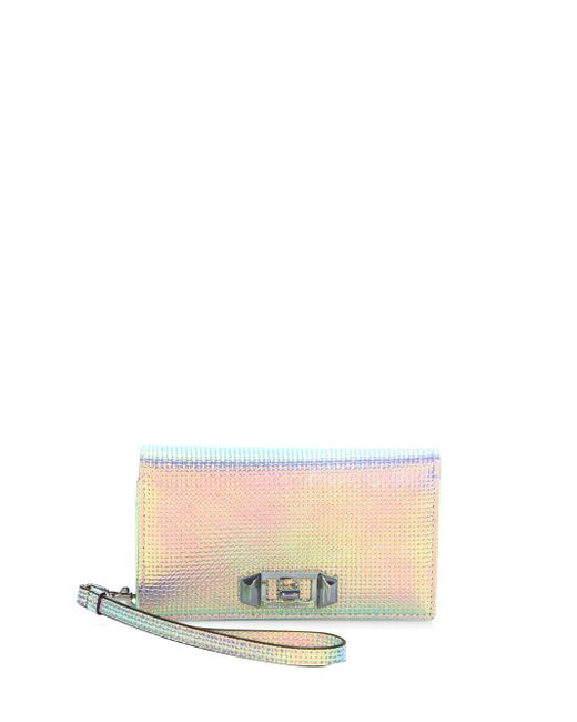 Rebecca Minkoff - Multicolor Love Lock Wristlet Iphone 7 Case - Lyst