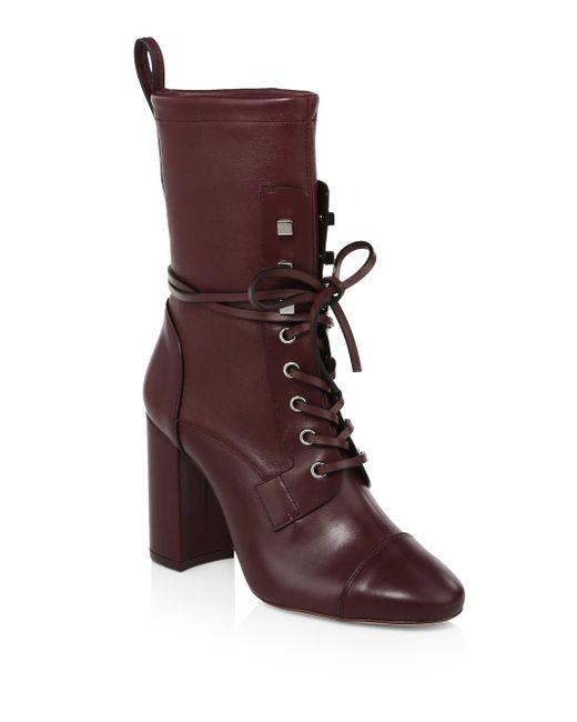 Stuart Weitzman - Brown Veruka Leather Boots - Lyst