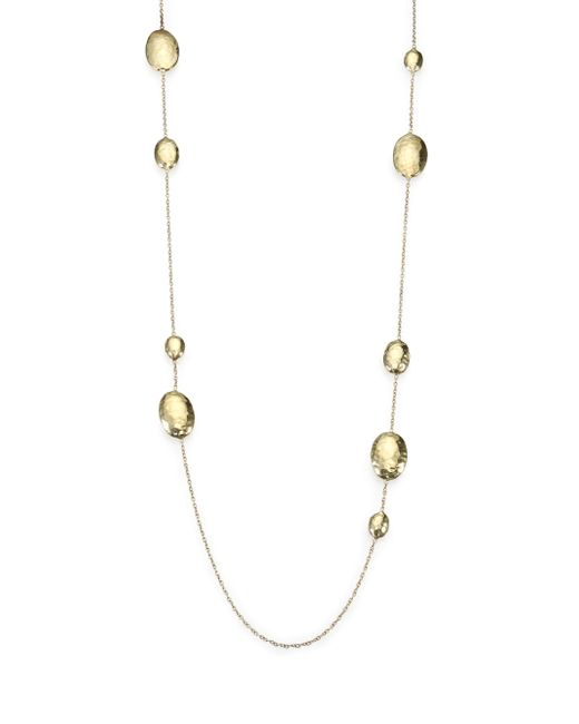 Ippolita - Metallic Glamazon 18k Yellow Gold Lollipop Station Necklace - Lyst
