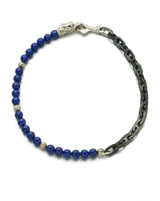 John Hardy - Blue Naga Silver Bracelet for Men - Lyst