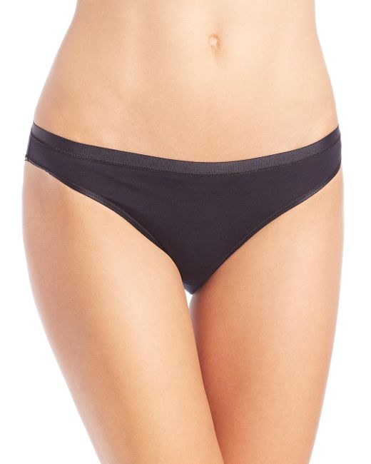 Hanro - Black Soft Touch Bikini - Lyst