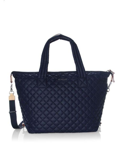 Mz Wallace Sutton Dawn Shoulder Bag In Blue Lyst