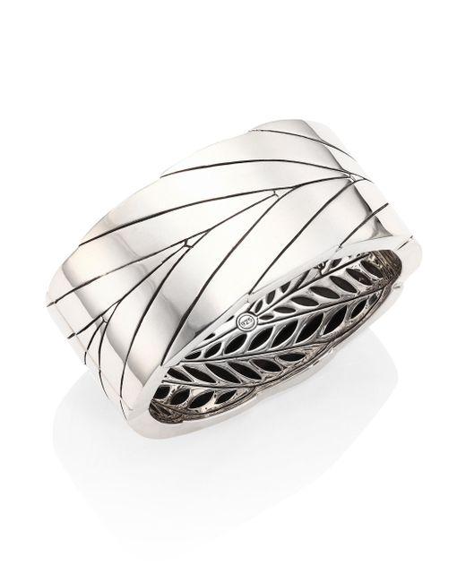 John Hardy   Metallic Modern Chain Sterling Silver Bracelet   Lyst