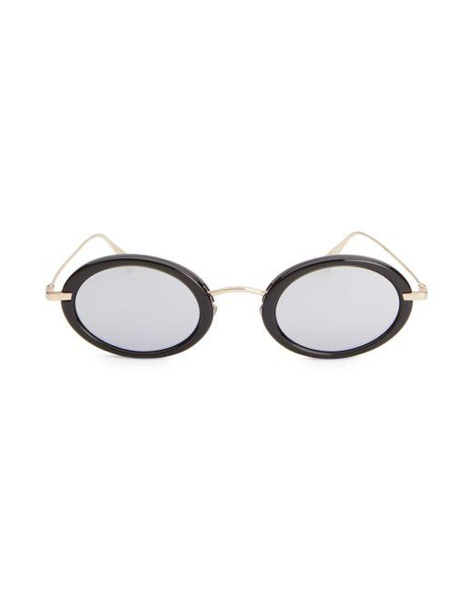 e4a64e5e4d34 Dior Hypnotic 2 46mm Oval Sunglasses in Metallic - Lyst