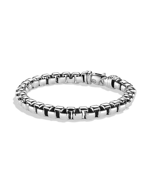 David Yurman | Metallic Large Box Chain Bracelet | Lyst