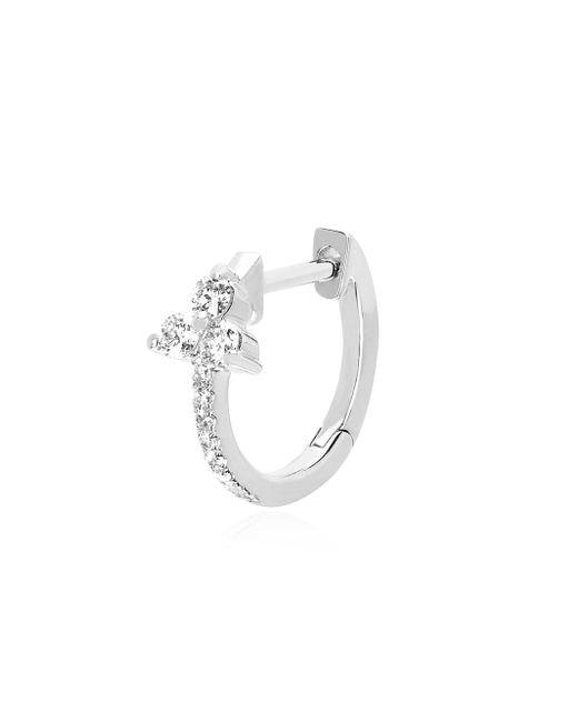 EF Collection - Metallic Diamond & 14k White Gold Trio Earrings - Lyst