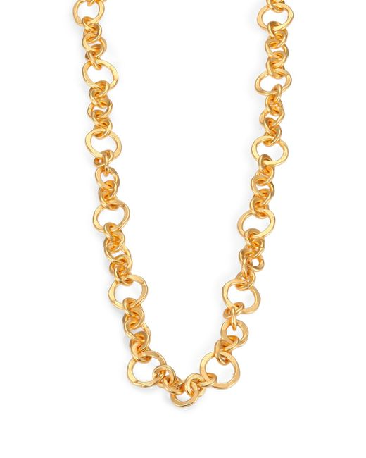 Stephanie Kantis | Metallic Coronation Small Chain Necklace/42 | Lyst