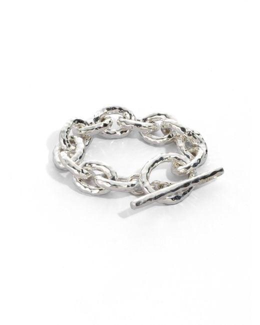 Ippolita - Metallic Glamazon Sterling Silver Bastille Link Bracelet - Lyst