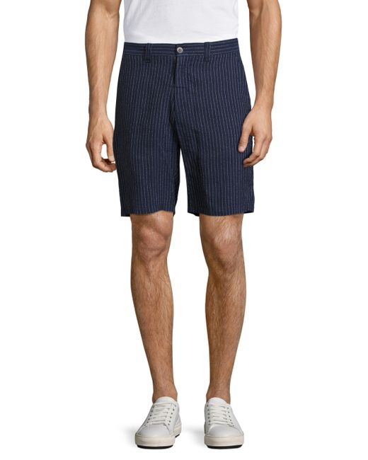 Vilebrequin | Blue Basic Pinstriped Shorts for Men | Lyst