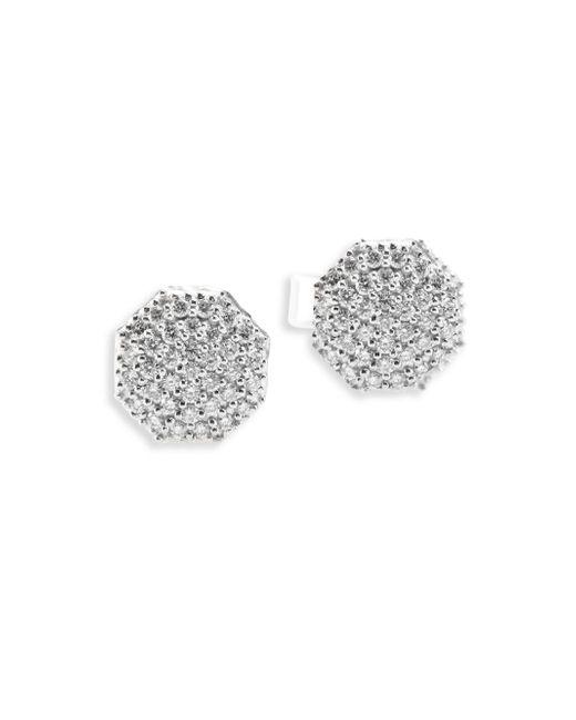Phillips House   Hero Diamond & 14k White Gold Stud Earrings   Lyst