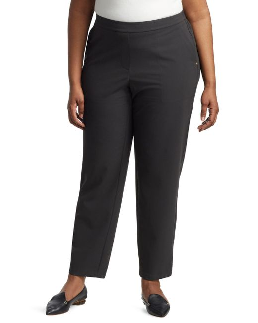 Lafayette 148 New York - Black Fulton Smooth Front Pants - Lyst