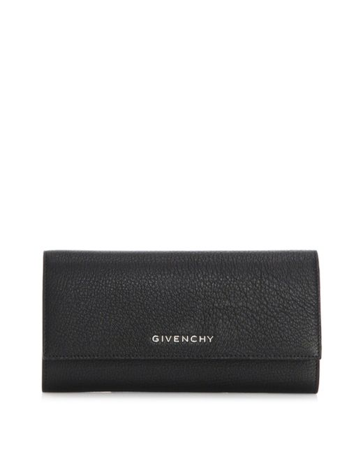 Givenchy - Black Pandora Continental Leather Wallet - Lyst