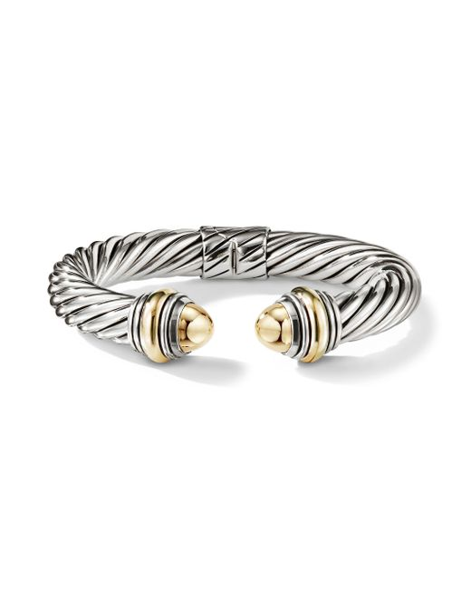 David Yurman - Metallic Cable Classics Bonded Yellow Gold & 14k Gold Bracelet - Lyst