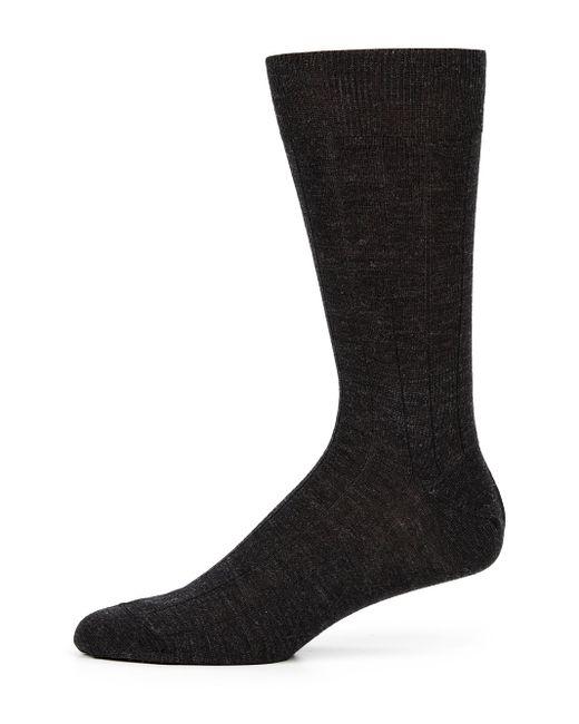Saks Fifth Avenue - Gray Stretch-wool Dress Socks for Men - Lyst