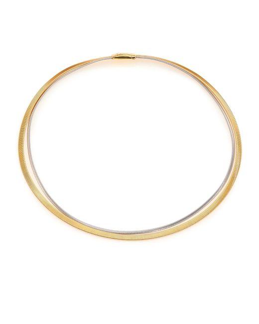 Marco Bicego   Metallic Goa 18k Yellow Gold & White Gold Double-strand Necklace   Lyst