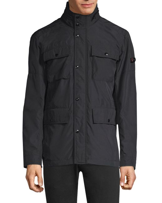Strellson - Black Flap-pocket Jacket for Men - Lyst