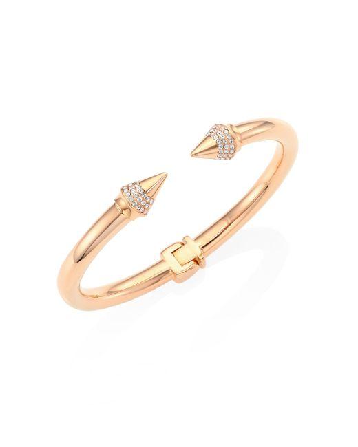 Vita Fede | Metallic Mini Titan Crystal Bracelet/rose Goldtone | Lyst