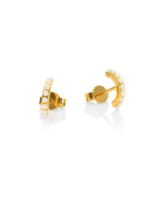 Vita Fede - Metallic Luna Faux-pearl Stud Earrings - Lyst