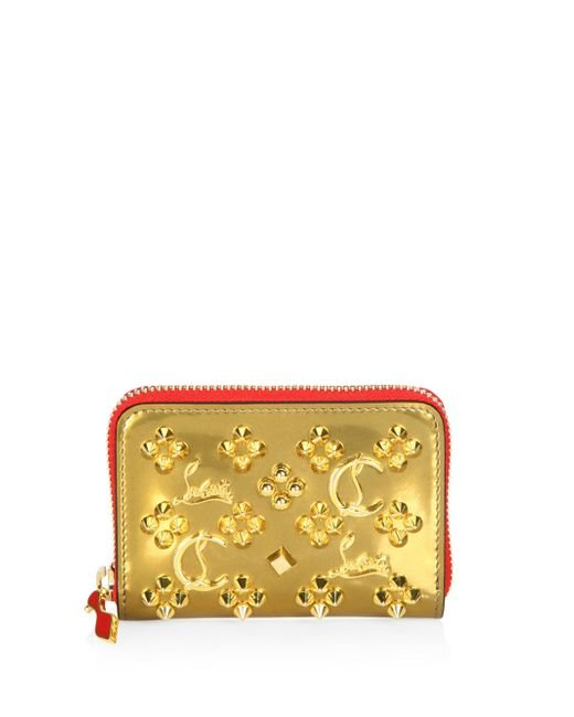 Christian Louboutin - Metallic Panettone Coin Purse - Lyst