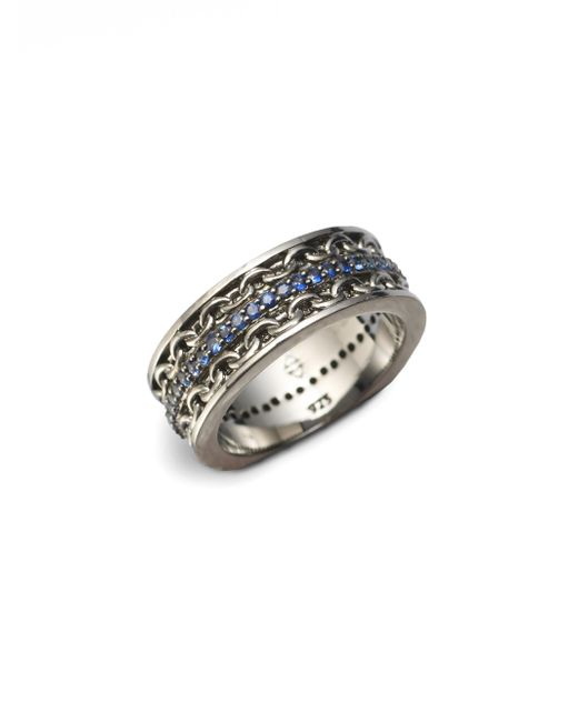 Stephen Webster - Metallic Black Rhodium Plated Ring for Men - Lyst