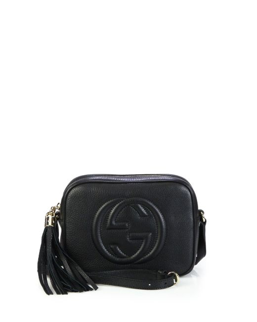 Gucci - Black Soho Leather Disco Bag - Lyst