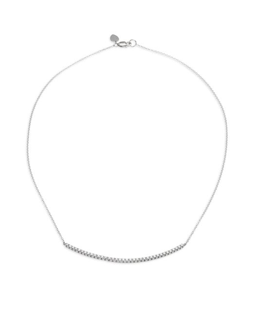 Meira T - Diamond & 14k White Gold Chain Necklace - Lyst