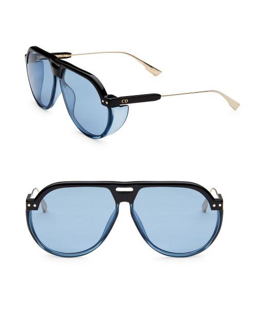 Dior - Blue Club 3s 61mm Pilot Sunglasses for Men - Lyst