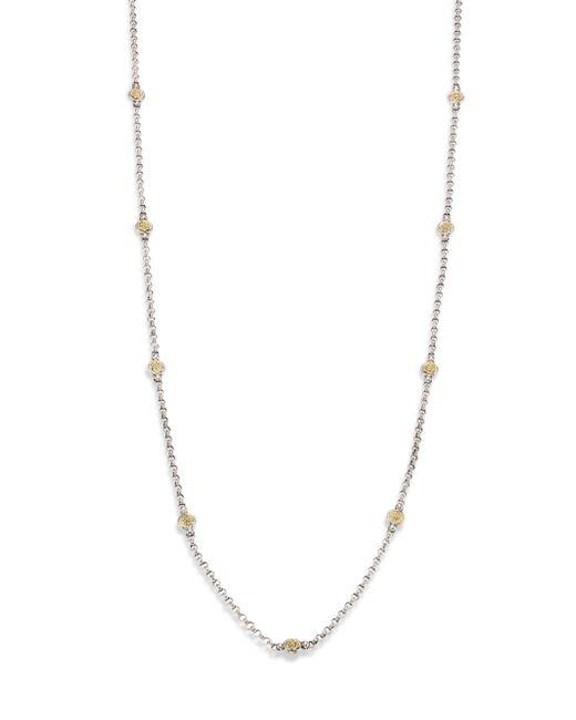 Konstantino - Metallic Iliada Collection Chain Necklace - Lyst