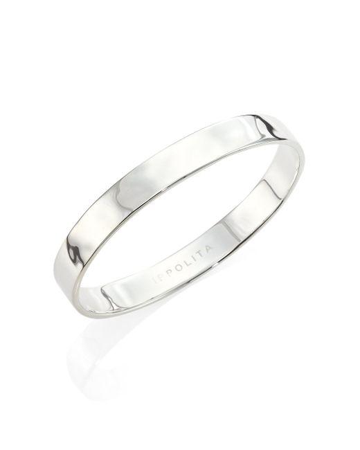 Ippolita | Metallic Sensotm Sterling Silver Bangle Bracelet | Lyst