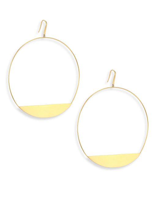 Lana Jewelry - Metallic Bond 14k Yellow Gold Xl Eclipse Earrings - Lyst