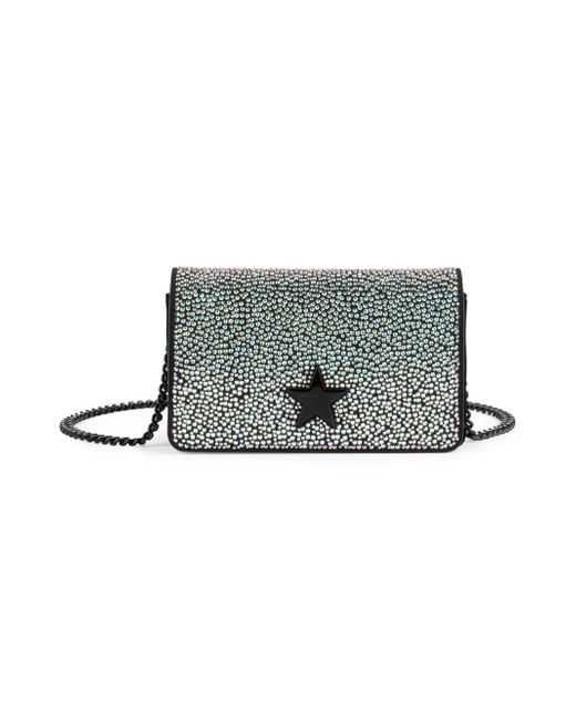 Stella McCartney - Black Small Star Studded Shoulder Bag - Lyst ... c3c4398b0dcab