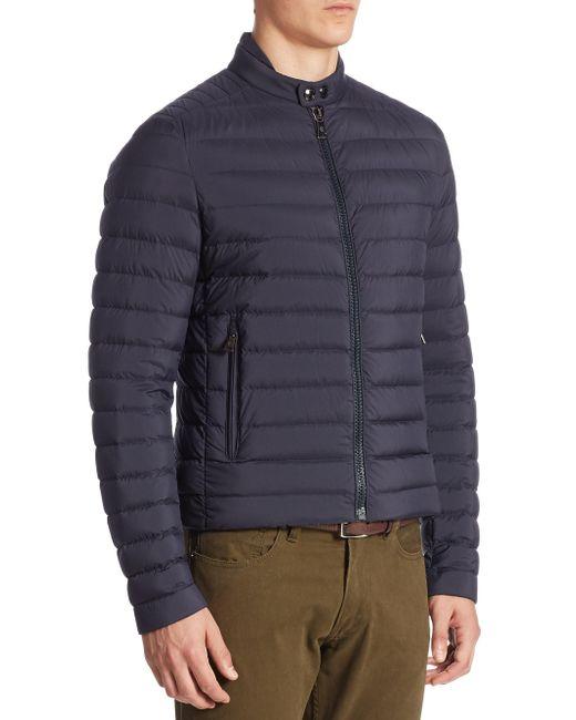 Ralph Lauren | Blue Lawton Down Jacket for Men | Lyst
