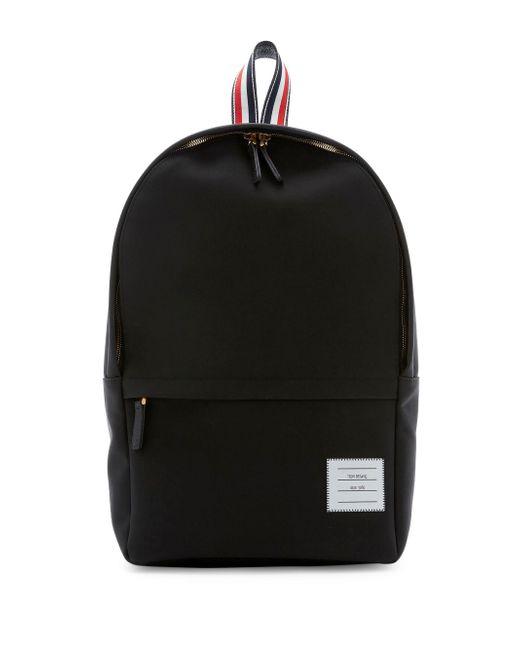 Thom Browne - Black Minimalistic Backpack for Men - Lyst