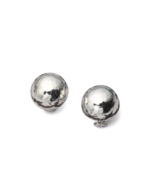Ippolita - Metallic Glamazon Sterling Silver Half Ball Button Earrings - Lyst