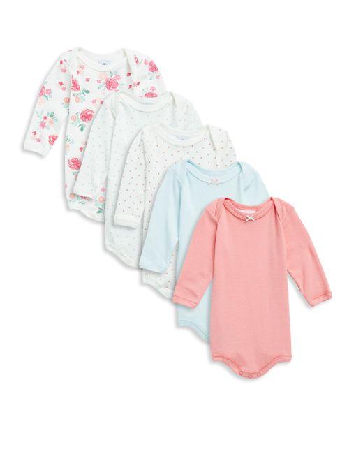 Petit Bateau   Multicolor Baby's Five-piece Cotton Bodysuit Set   Lyst